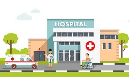 Hospital on sale