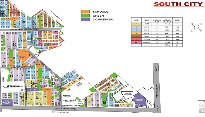 Plot For Sale In South city I Gurgaon